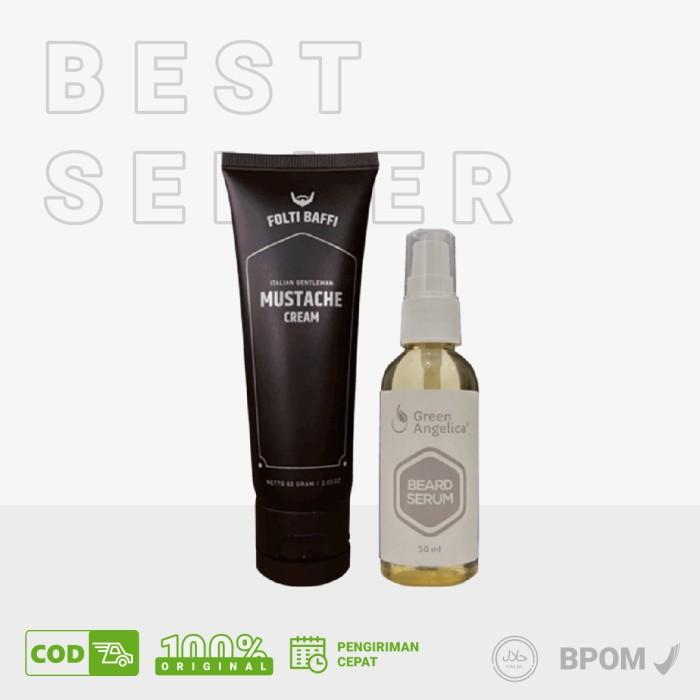 Foto Produk Obat Alami Untuk Menumbuhkan Jambang Folti Baffi Masculine Package dari Seles Green Angelica sby