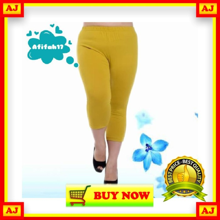 Jual Ub075 Celana Legging Leging Jumbo Pendek Bahan Spandek Licin Jakarta Barat Rifkuku Shop Tokopedia