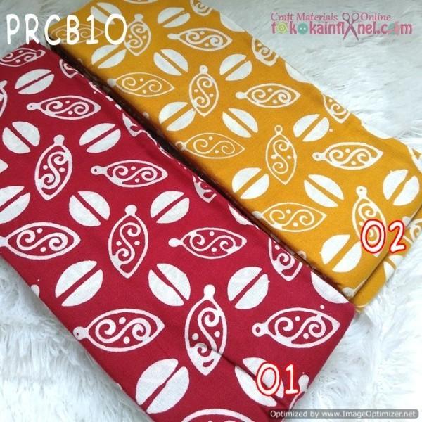Foto Produk Prcb10 Perca Batik Cap Bahan Katun Uk 50X50Cm - kunyit-kunyit dari Toko Kain Flanel dot com