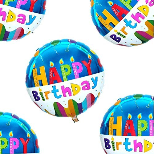 Jual 18 Happy Birthday Balloons Party Supplies Foil Mylar Helium Balloon 2 Jakarta Utara Exborders Tokopedia
