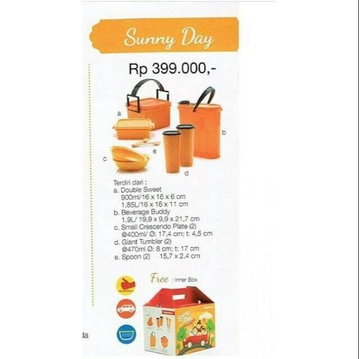 Jual Ready Stock Sunny Day Promo Termurah Tupperware Original Jakarta Barat Eriina Store Tokopedia