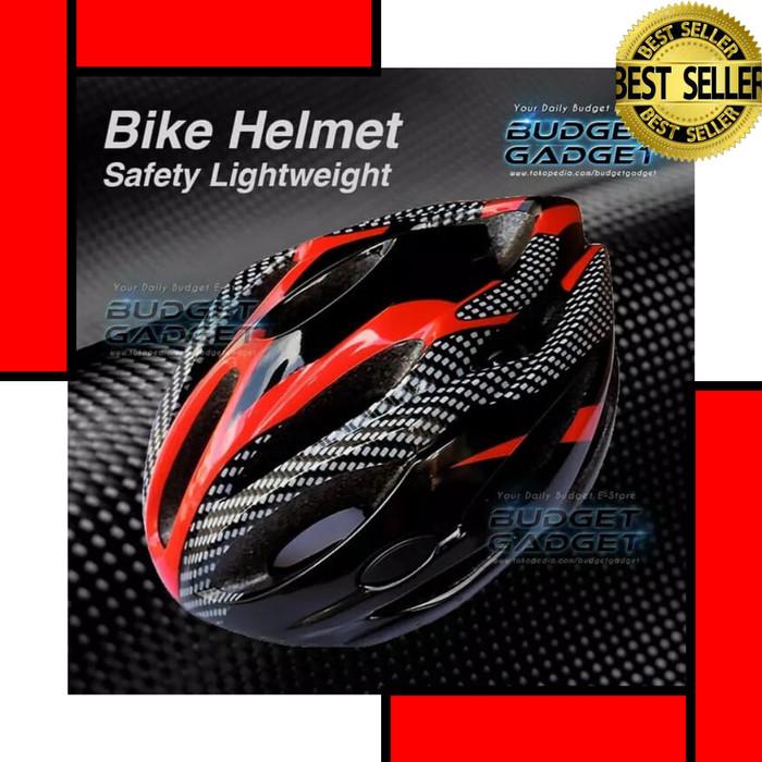 Foto Produk Helm Sepeda Gunung Mtb Lipat Listrik BMX Ringan EPS PVC - Biru dari The Kinan's