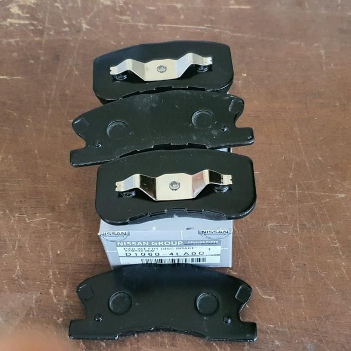 Foto Produk Kampas rem brake pad Datsun Go Depan dari Sparepart Nissan Genuine