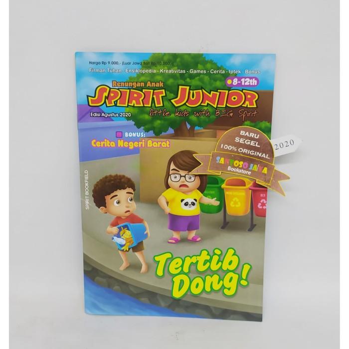 Foto Produk Renungan Anak Spirit Junior 8-12 Tahun Edisi Agustus 2020 dari Santoso Jaya Bookstore