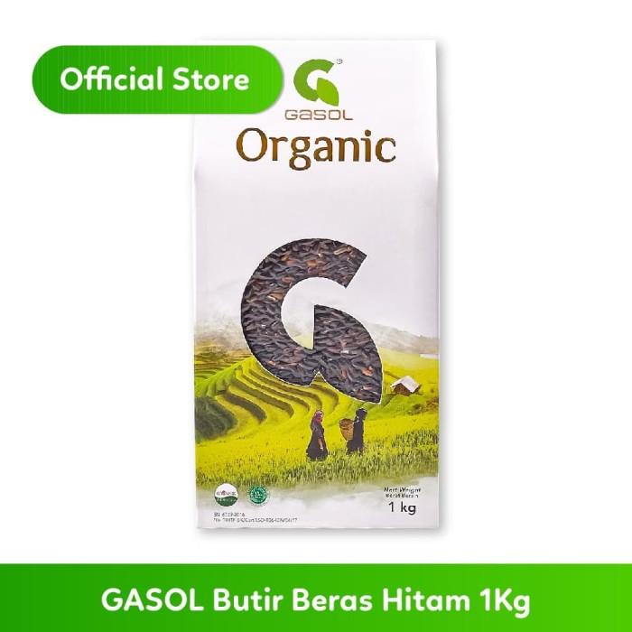 Foto Produk GASOL Beras Organik Hitam 1Kg dari Gasol Organik Indonesia
