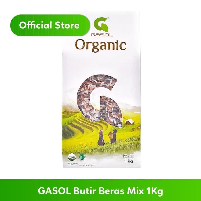 Foto Produk GASOL Beras Organik Campur 1Kg dari Gasol Organik Indonesia