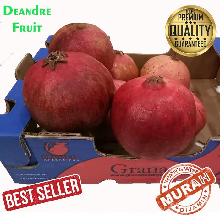 Foto Produk Buah Delima Merah import JUMBO 4,5 - 5kg TERMURAH DIJAMIN MURAH dari Deandre Fruit Market1