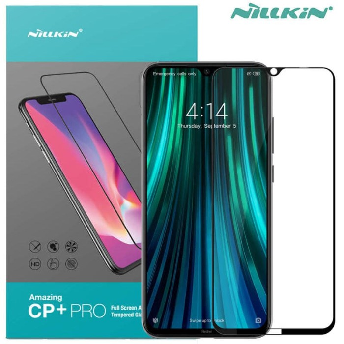 Foto Produk Nillkin CP Plus Pro Glass Xiaomi RedMi Note 8 - Note 7 - Tempered Ori dari Logay Accessories
