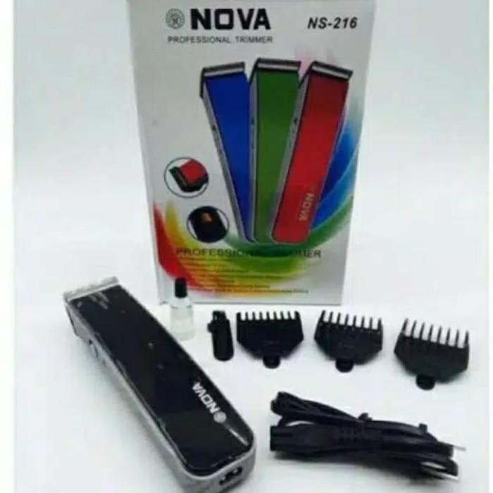 Foto Produk Alat cukur rambut Kumis Dll Nova NS - 216 Hair Anda Beard Trimmer - NOVA 216 dari maidianashop