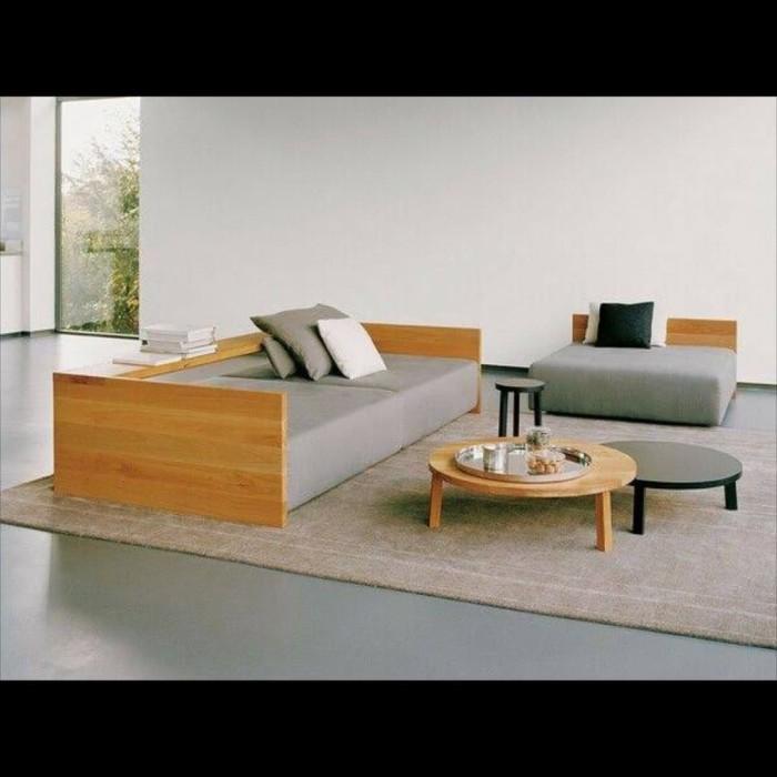 Jual Set Sofa Kursi Tamu Minimalis Modern Kayu Jati Busa Royal Kab Jepara Solid Wood Tokopedia