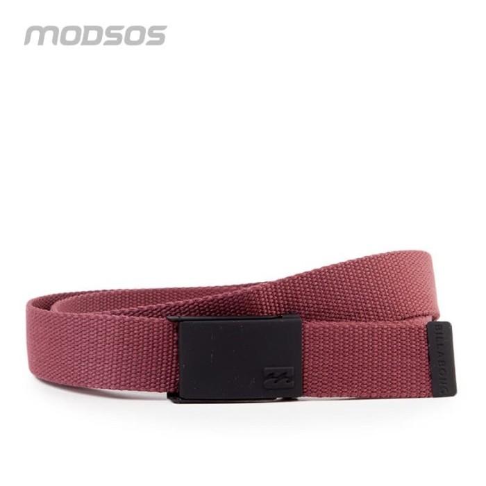 Foto Produk Tali Ikat Pinggang Billabong Pria 26 Red Original dari Modsos
