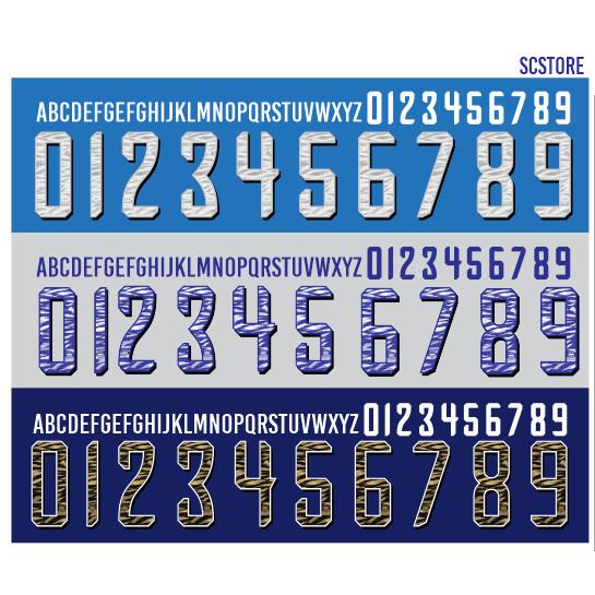 Foto Produk Pasang Sablon Nama Nomor Punggung Nameset KHUSUS Persib dari SCStore21