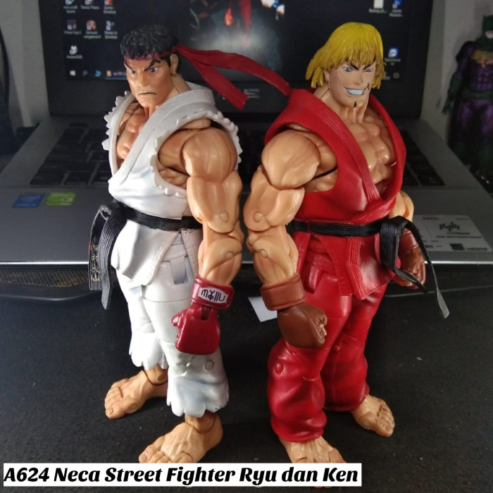 Jual A624 Action Figure Neca Street Fighter Ryu And Ken Kota
