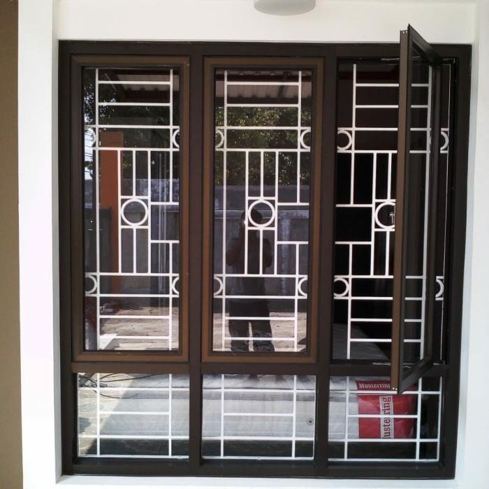 Jual Tralis Pintu Jendela Besi Holo Alumunium Standar Modern Minimalis Kota Depok Tri Murcti Corporation Tokopedia