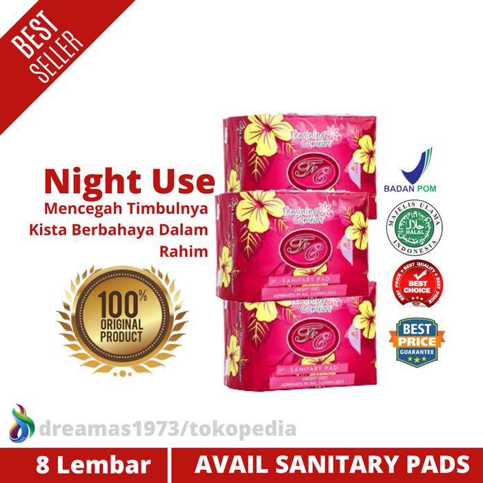 Jual Menghilangkan Kista Di Rahim Pembalut Herbal Alami Avail Night Used Kota Bandung Dreamas1973 Tokopedia