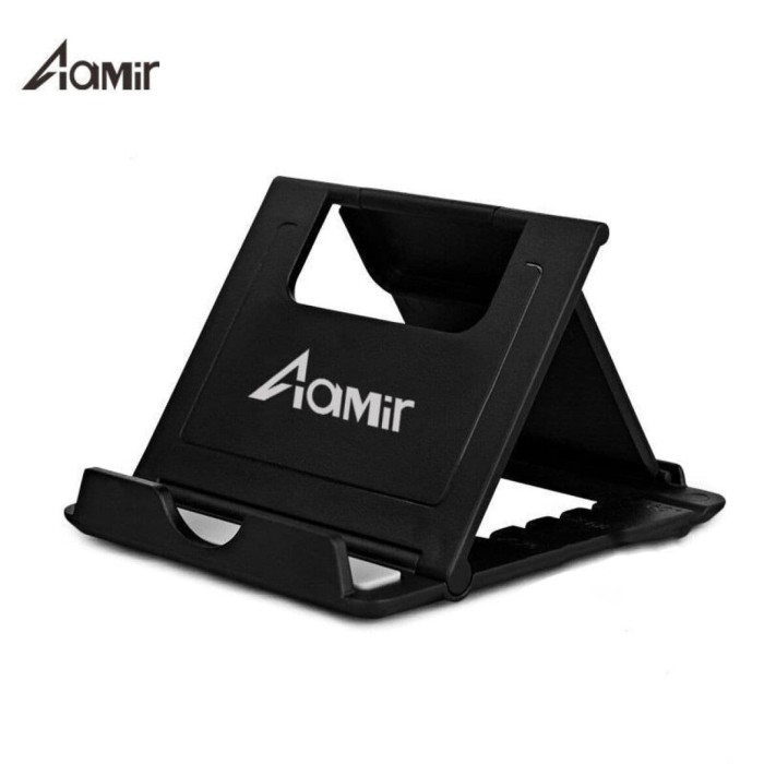 Foto Produk AAMIR Adjustable Desk Tablet Holder Multi-angle Stand - AMOT01 dari Gadgetmaniaofficial