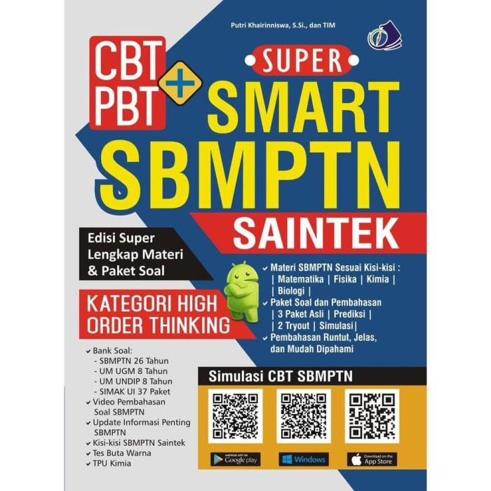 Jual Big Sale Buku Super Smart Sbmptn Saintek Kompas Ilmu Kode 154 Jakarta Barat Little Pillows Tokopedia