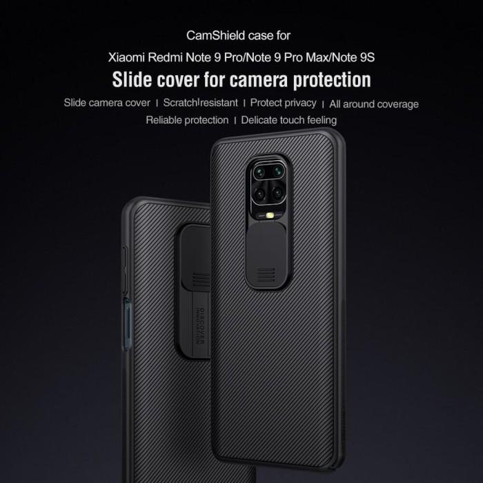 Foto Produk Nillkin Camshield case REDMI Note 9 pro casing camera protection dari SmartBuy-Mart