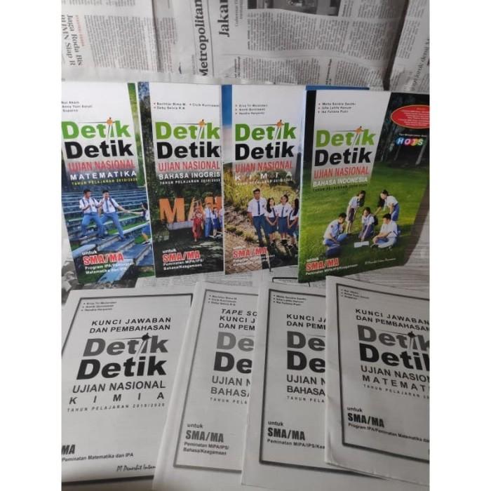 Jual Buku Detik Detik Un Sma 2020 Ipa Ips Kunci Jawaban Bahasa Indonesia Kota Bekasi Barbarians Shop Tokopedia
