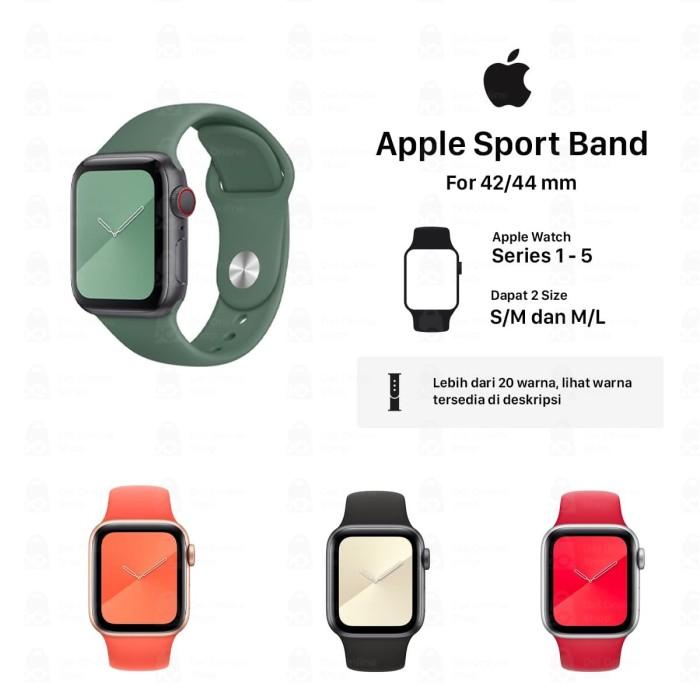Foto Produk Apple strap Strap Apple watch silicon premium quality 42MM dari Dei Online Shop