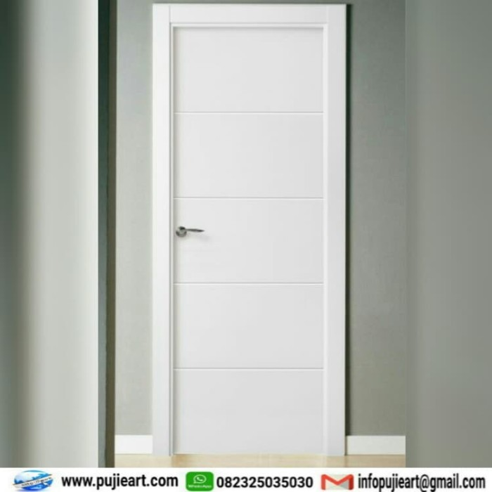 Jual Pintu Kamar Tidur Murah Kusen Pintu Kayu Minimalis Modern Kab Jepara Pujieart Furniturejepara Tokopedia