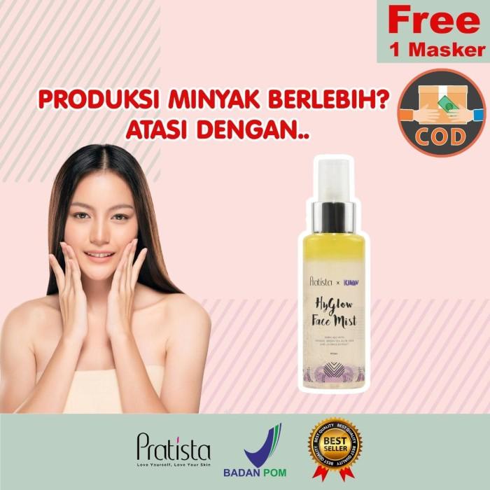 Foto Produk HyGlow Face Mist Pratista X Kinan PRATISTA dari halimah kosmetiku