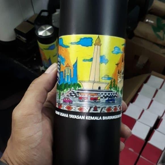 Foto Produk Tumbler H775 souvenir promosi print UV dari Outlet souvenir JKT