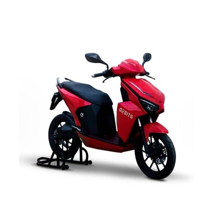 Foto Produk GESITS Motor Listrik (OTR Jawa Tengah) - Merah dari GESITS