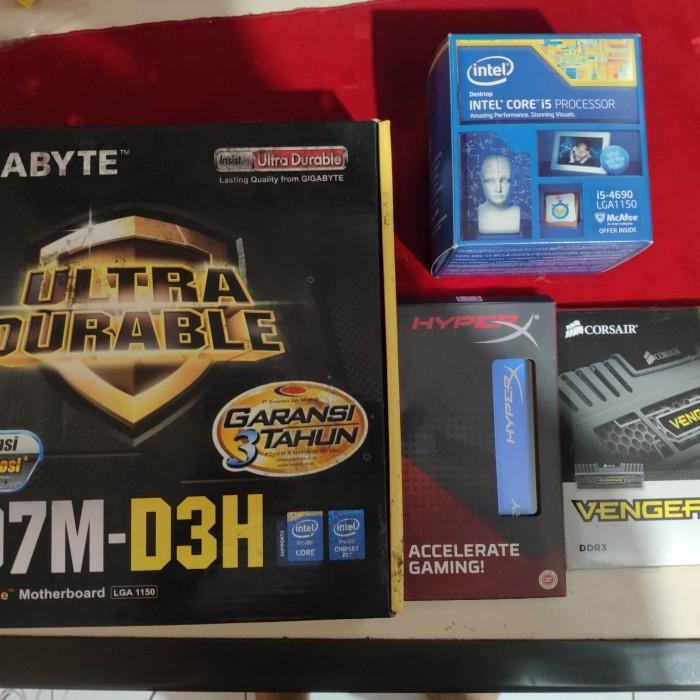 Foto Produk Paket gaming core i5 ram 16gb GIGABYTE Z67M-D3H dari Online Shop Sepatu