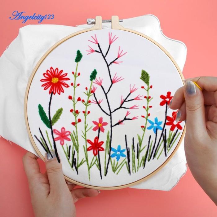 Jual Bagus Ang Set Lukisan Sulaman Bordir Cross Stitch Motif Bunga Bahan Ka Jakarta Timur Distributor Vape Import Tokopedia