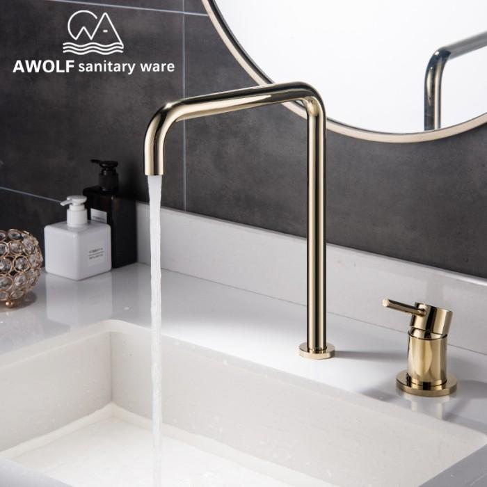 Jual High Quality Bathroom Basin Faucet Kitchen Sink Faucet Solid Brass Kab Purbalingga Delapan Sodara Tokopedia