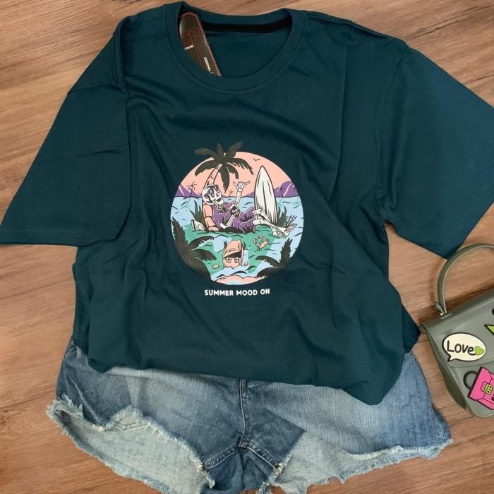 Foto Produk Kaos Tumblr Tee Wanita / T-Shirt Wanita / Kaos Wanita / Summer mode on dari NinePlus