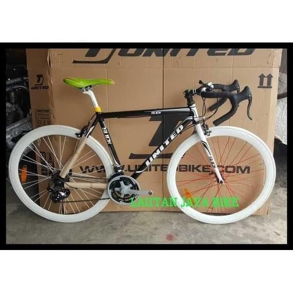 Jual Best Seller Sepeda United Fixie Balap Slick 71 Frame Alloy Modif Jakarta Barat Tanaja Merch Tokopedia