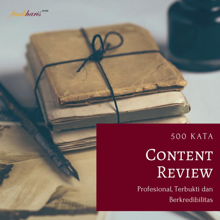 Foto Produk Konten Review Untuk Perusahaan dan Profesional - 500 Kata dari fendihariscom