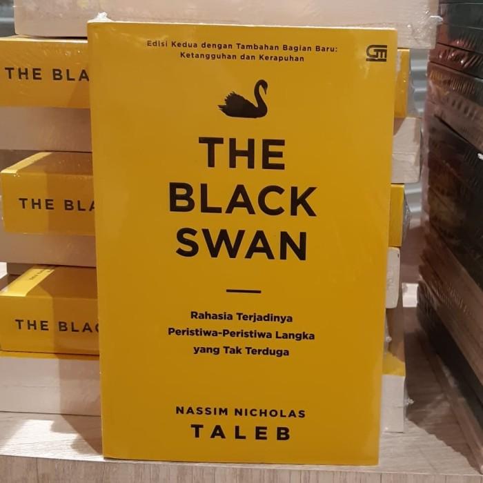 Foto Produk Buku The Black Swan Rahasia Terjadinya Peristiwa Nassim Nicholas Taleb dari Showroom Books