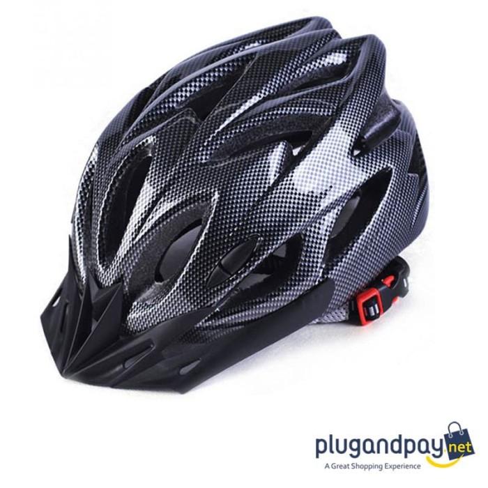 Foto Produk Helm Sepeda EPS Foam PVC Bicycle Helmet Sports dari plugandpay