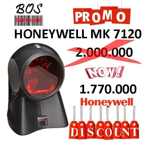 Foto Produk BARCODE SCANNER OMNI LASER MK/MS 7120 (Honeywell Orbit ) dari Bos Barcode
