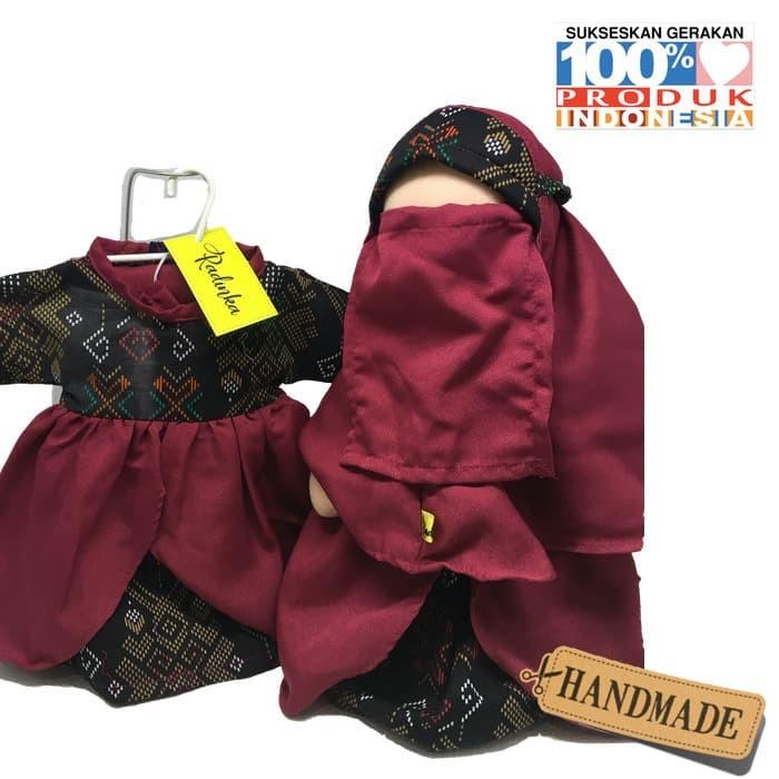 Foto Produk Boneka Anak Radinka doll Batik Dayak Outfit - Shinta dari Kids Learner