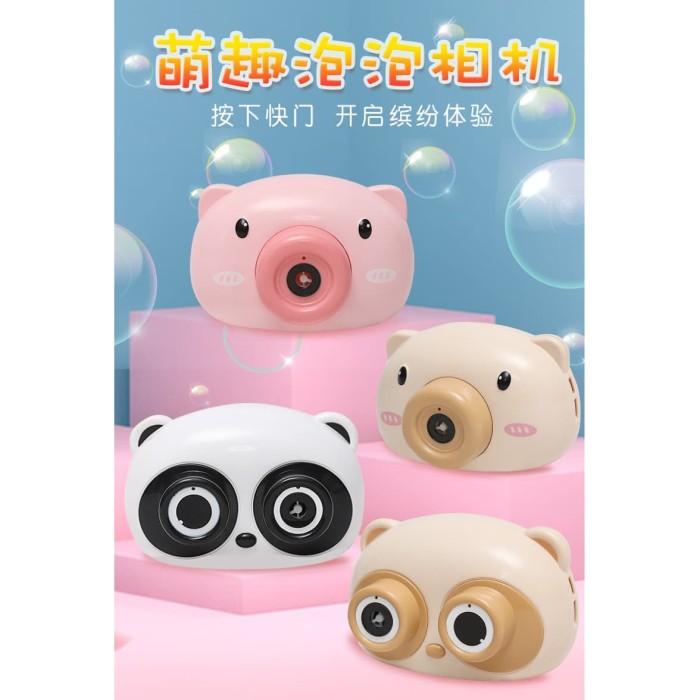 Foto Produk Camera Bubble Elektrik Dengan Lampu Dan Musik Mainan Anak dari Happy Fun Olshop