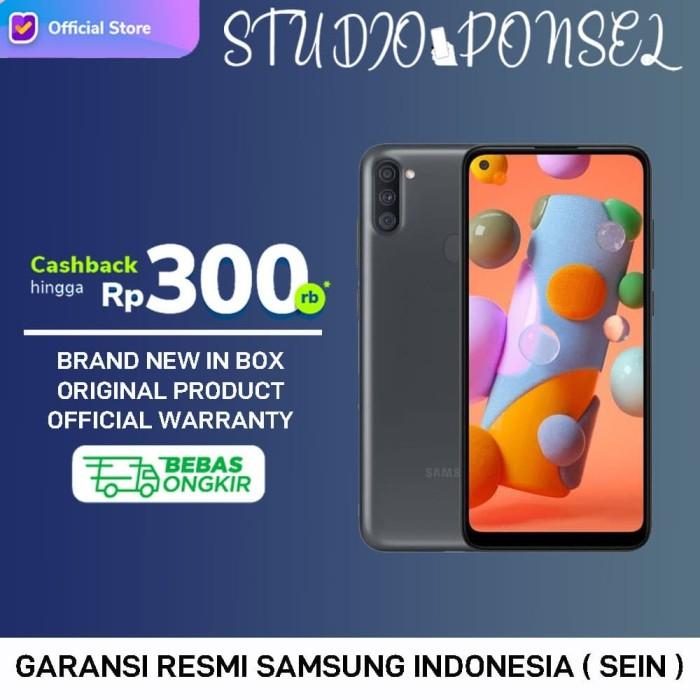Foto Produk Samsung Galaxy A11 2020 [ 3GB 32GB 32 GB ] Black White GARANSI RESMI dari Studio Ponsel