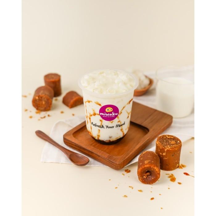 Foto Produk Brown Sugar Miruku Mochi Drink dari Miwaku Indonesia