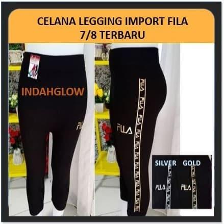Jual Celana Legging Import Wanita 7 8 Fila Terbaru Kota Depok Indahglow Tokopedia