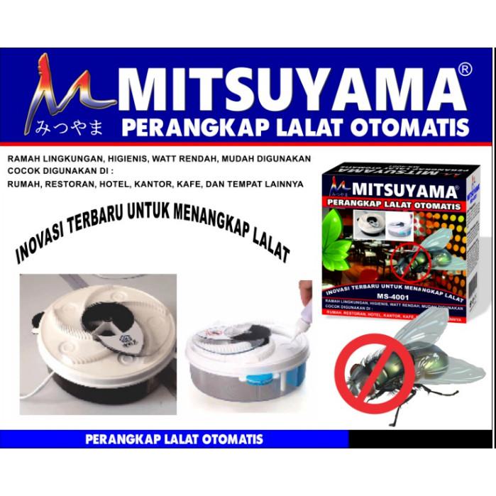 Foto Produk Perangkap LALAT Otomatis Jebakan Lalat Merk Mitsuyama MS-4001 dari grosirltc