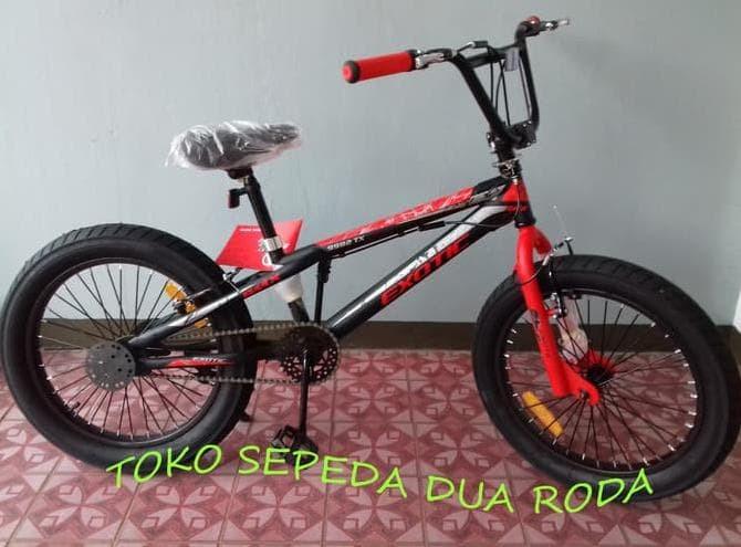 Jual Paling Populer Sepeda Bmx 20 Exotic 9982tx 3 0 Ban Besar Dengan Rotor Jakarta Timur Lilisrestiani Tokopedia