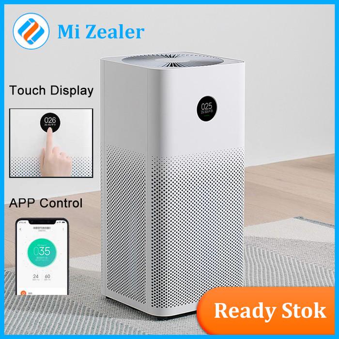 Foto Produk Xiaomi Air purifier 3/400m/h CADR/OLED Touch Display/APP Remote dari MI Zealer Store