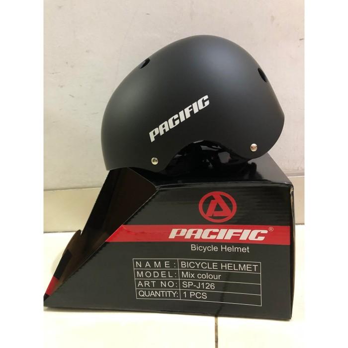 Foto Produk Helm Sepeda Lipat Pacific SP J-126 Warna Hitam - PackBubble dari OnlinePratama88