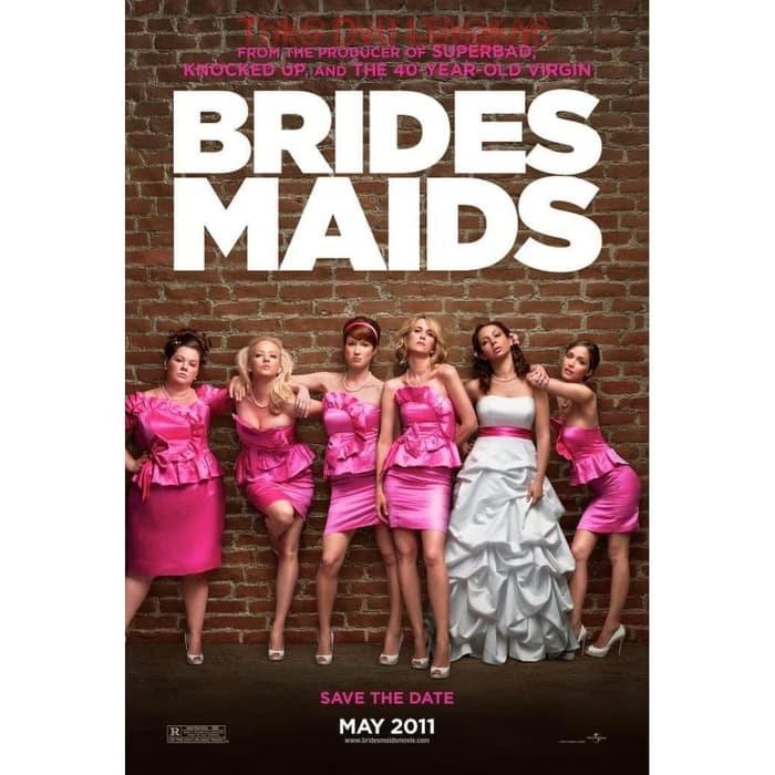 Jual Film Dvd Bridesmaids 2011 Kota Sukabumi Tigrestore Tokopedia