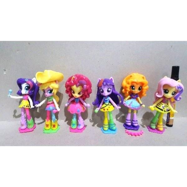 Jual Sale Mainan Action Figure My Little Pony Pony Orang Set Isi 6 Fu Jakarta Barat Virostored Tokopedia