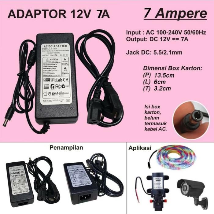 Foto Produk Adaptor 7A 12V dari Mitra Abadi LED