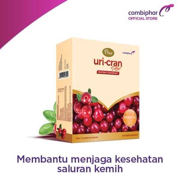Foto Produk Prive Uri-Cran Plus 15 sachet powder dari Combiphar Official Store